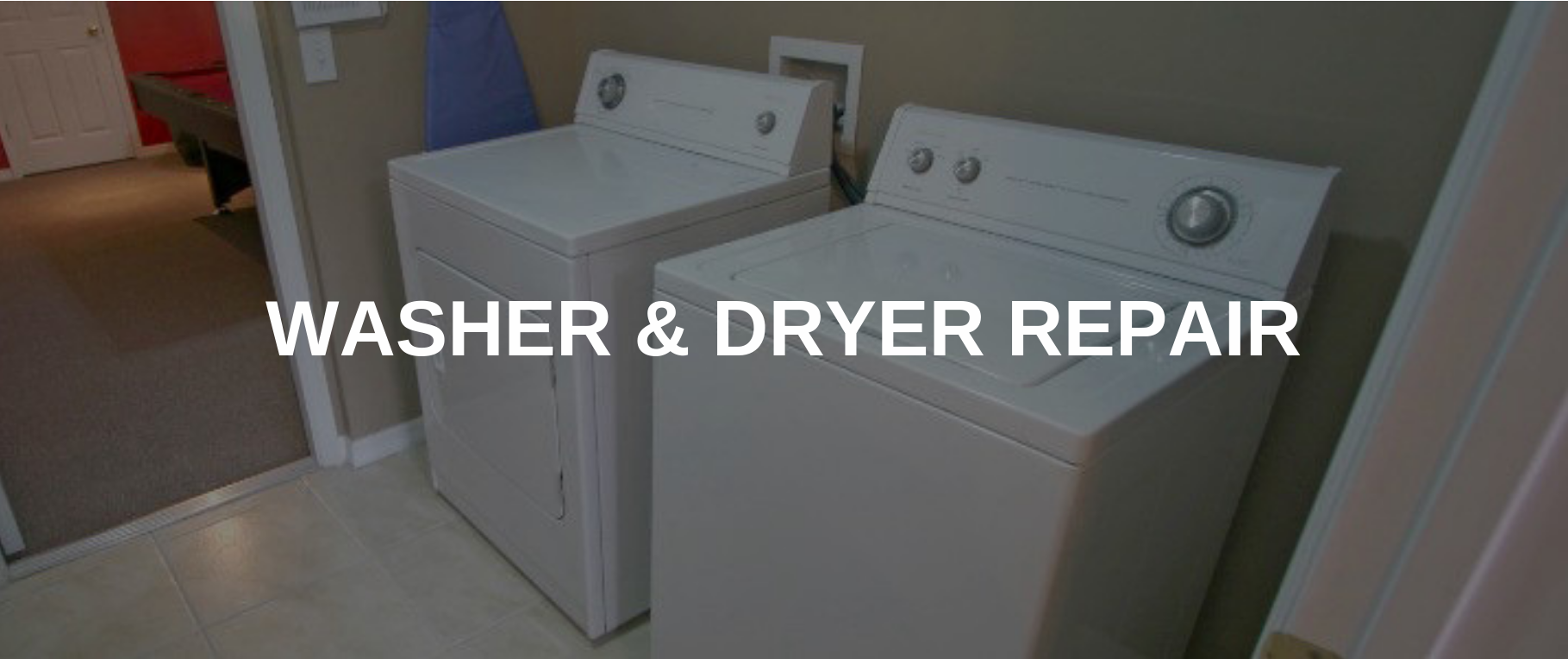 washing machine repair grand prairie